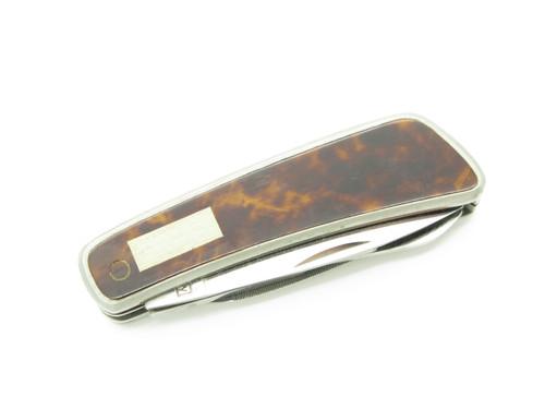 Vtg Kai Kershaw 5600 Seki Japan Lacquer Gentleman Scissor Folding Pocket Knife