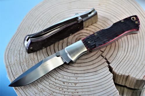 Seizo Imai Seki Japan ATS34 Mamba Lockback Blade Blank Folding Knife Making Part