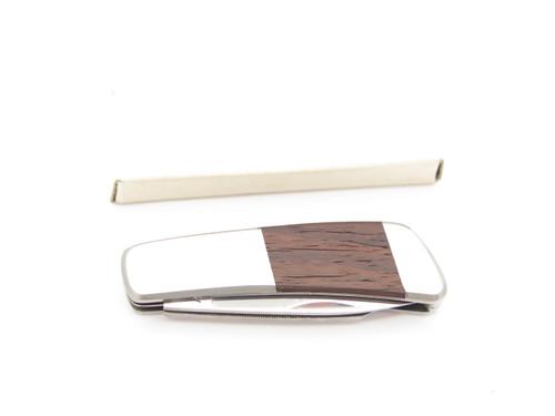 Vtg Kershaw Kai 5800 Seki Japan Gentleman Wood Bottle Open Folding Pocket Knife