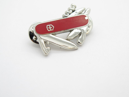 Victorinox Swiss Army Knife Collector Tie Tack Lapel Hat Pin Collector Gift