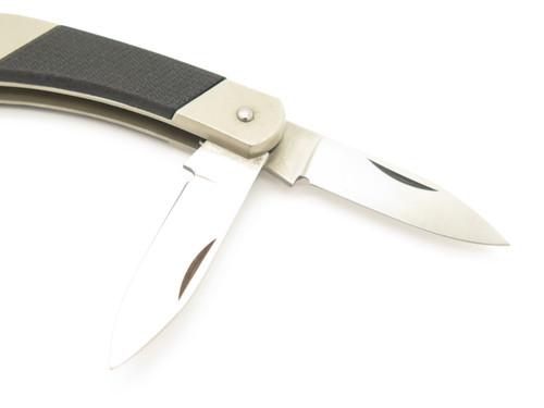 Vtg Kershaw 3110 Unusual 2 Blade Juniper Canyon Seki Japan Folding Pocket Knife