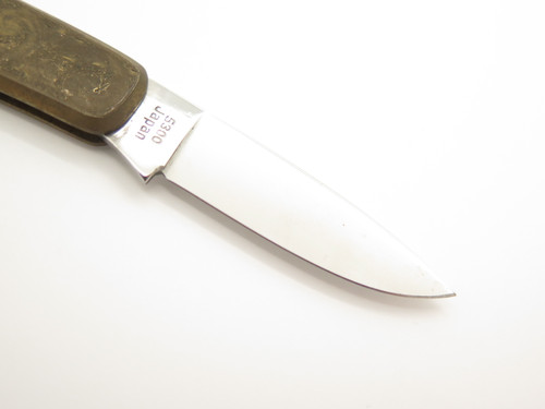 Vtg Kershaw 5300 Scroll Seki Japan Gentleman Pearl Folding Lockback Pocket Knife