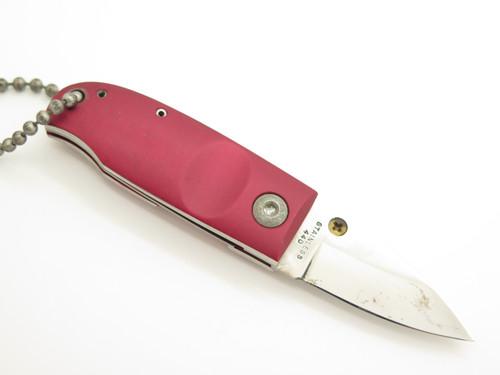 Red Explorer 11-319 Mini Stubby G Sakai Seki Japan Small Folding Pocket Knife
