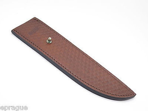 """Marbles Trailmaker Leather Bowie Knife Pouch Sheath 10"""" Fixed Blade Cold Steel"""