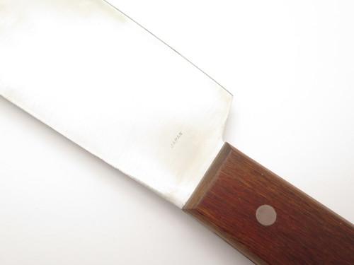 Japanese Double Handle Reito Bocho Frozen Food Kitchen Knife Seki Japan Cutlery
