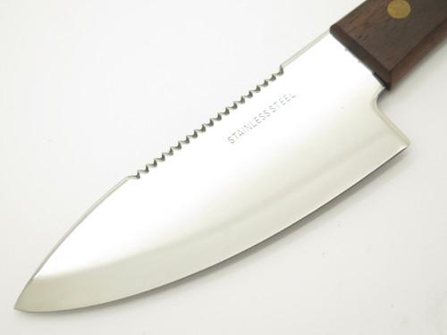 """Vintage Seki Japan Stainless 4"""" Deba Sushi Chef Fish Kitchen Cutlery Knife"""