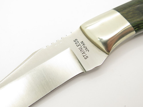 Vintage Tak Fukuta Frost Sample Seki Japan Fixed Blade Hunting Caper Knife