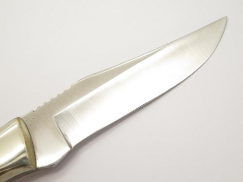 Vintage Tak Fukuta Frost Sample Seki Japan Fixed Blade Caper Hunting Knife