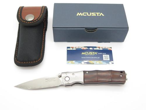 Mcusta Seki Japan MC-0145G Bamboo San Mai SPG2 Wood Gent Folding Pocket Knife