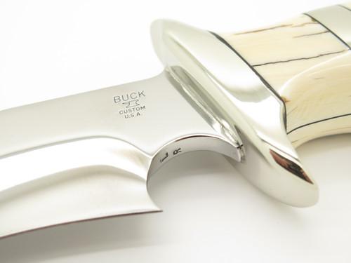 Buck Custom 904 Leroy Remer Sub Hilt Bowie BG-42 Fixed Blade Knife
