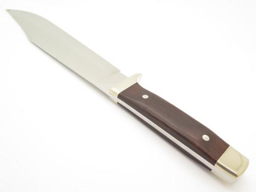 """Vintage Custom Seki Japan 15.5"""" Ironwood Fixed Blade Anaconda Bowie Knife"""