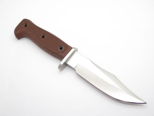 Vtg Resqvival Seki Japan Bulldog Bowie Fighter Survival Fixed Hunting Knife