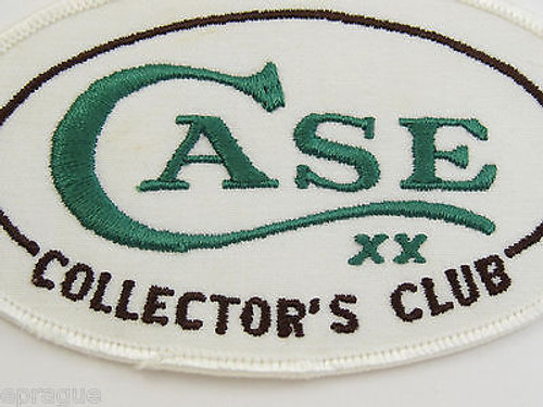 VINTAGE CASE KNIVES TESTED XX CCC COLLECTORS CLUB HAT SHIRT PATCH