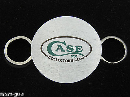 VINTAGE W.R. CASE XX & SONS KNIVES ZIPPO CCC CASE COLLECTORS CLUB KEY RING HOLDER