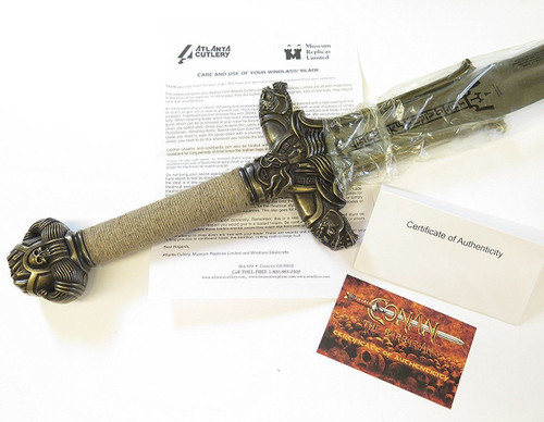 Conan The Barbarian Museum Replica Atlantean Sword Windlass Atlanta Knives