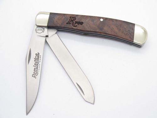 Remington UMC USA R161 R700 Wood Trapper Folding Pocket Knife & Box