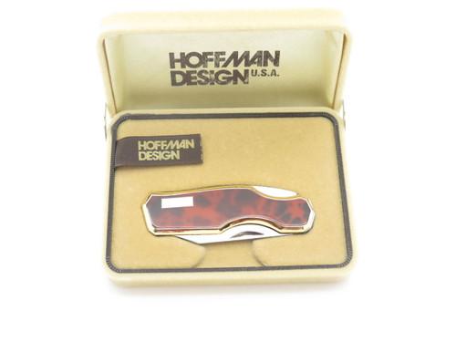 VINTAGE HOFFMAN 88L KAWAKAMI SEKI JAPAN GENTLEMAN FOLDING POCKET KNIFE RED in BOX