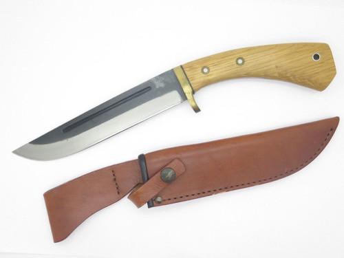 VINTAGE SEKI CUT 232 PROTOTYPE ISHIKAWA KEN NATA SAN MAI SEKI FIXED MACHETE KNIFE