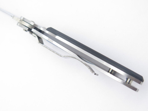 Vtg Seki Cut SC-145 Black G10 Folding Pocket Knife ATS-34 Tanto By G. Sakai