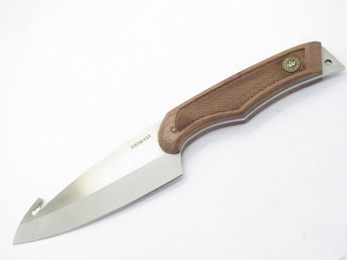 Vtg Seki Cut SC-155 Glenn Waters Camping Deba Hunting Fixed Knife Gut Hook