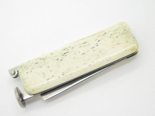 Vintage Nos Parker Frost Seki Japan Folding Pocket Knife Tobacco Pipe Tamper Tool Longarm