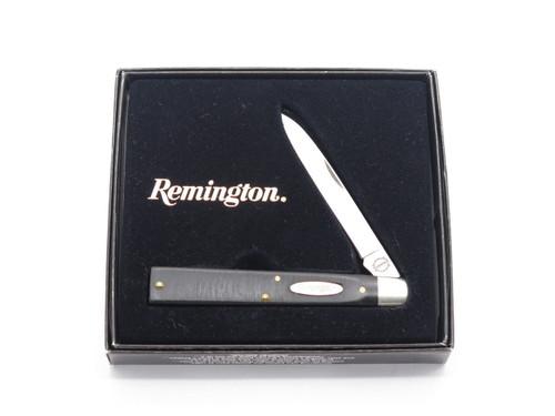 Remington UMC USA Country Doctor Black Delrin Folding Pocket Knife