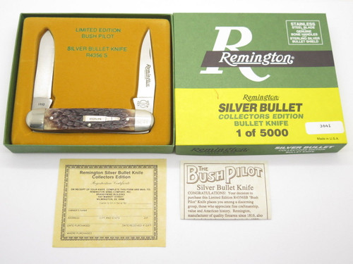 1993 REMINGTON UMC R4356 SILVER BULLET BUSH PILOT FOLDING POCKET KNIFE