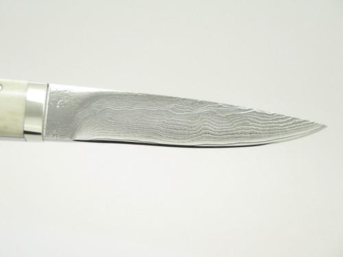 Seizo Imai Seki Custom Loveless Caper Sambar Stag & VG-10 Damascus Fixed Knife