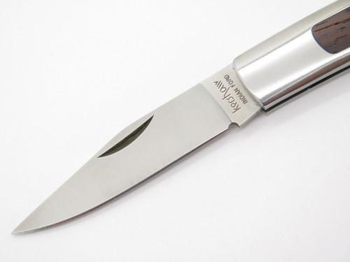 Kershaw 2155 Indian Forge Seki Japan Medium Gentleman Folding Pocket Knife Nos