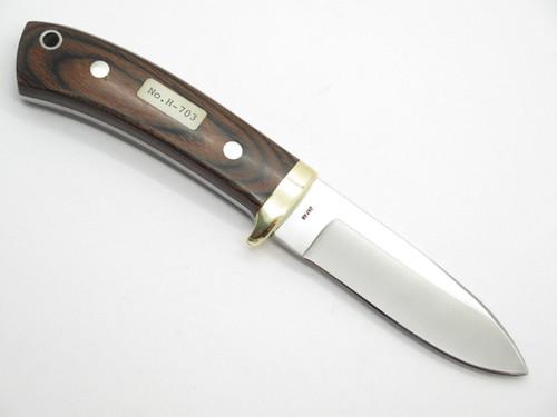 Vtg HI-CUT H-703 Splendor 700 Seki Japan Custom Fixed Blade Hunting Knife Nos