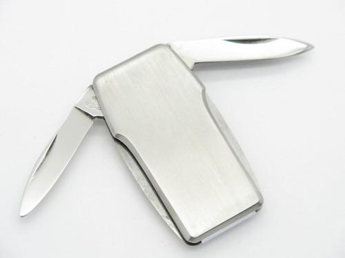 Vintage Parker Frost Seki Japan Lobster Money Clip Stainless Steel Folding Pocket Knife