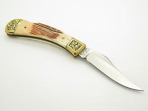 VINTAGE PARKER EAGLE BRAND K-542 SEKI JAPAN FOLDING POCKET KNIFE BY IMAI & BOX