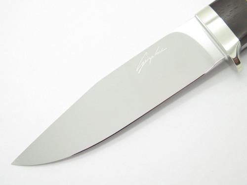 Seizo Imai Seki Custom Loveless LG Clip Point ATS-34 Wood Fixed Blade Knife