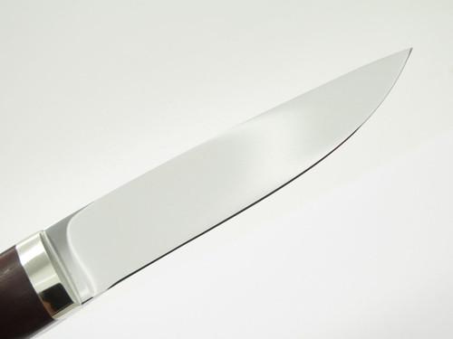 Seizo Imai Seki Custom Loveless Large Caper ATS-34 & Wood Fixed Blade Knife