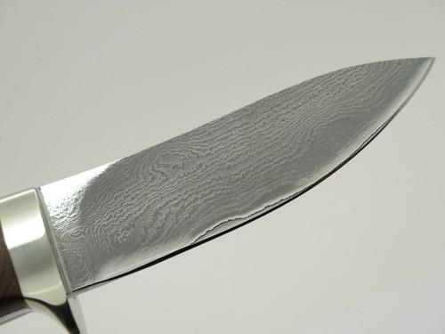 Seizo Imai Seki Custom Loveless Style Skinner Wood VG-10 Damascus Fixed Knife