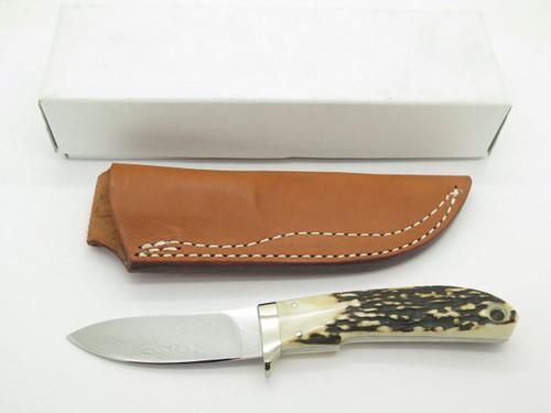 Seizo Imai Seki Custom Loveless Skinner Sambar Stag & VG-10 Damascus Fixed Knife