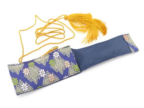 Mcusta Seki Japan Nishijin Japanese Cloth Pouch Folding Pocket Knife Sheath
