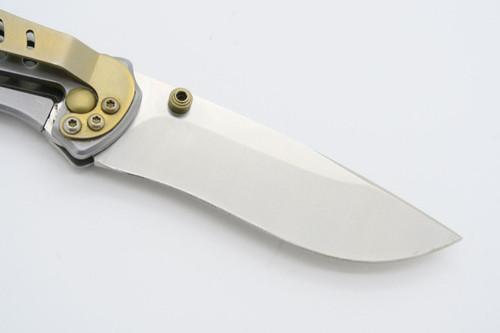 Vtg Camillus Cuda Darrel Ralph Talonite Stainless Framelock Folding Pocket Knife