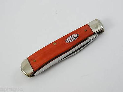 2004 CASE XX 6254 Pledge Allegiance AMERICAN TRAPPER FOLDING POCKET KNIFE