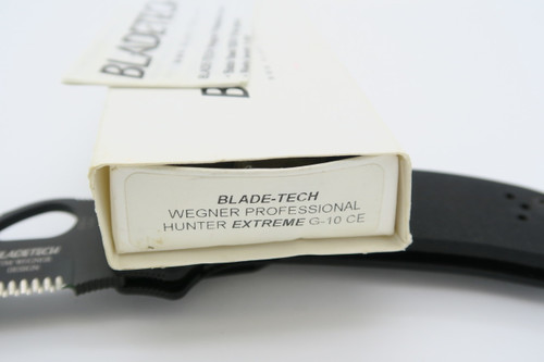 BLADETECH USA WEGNER HUNTER EXTREME S30V TACTICAL FOLDING HUNTER POCKET KNIFE