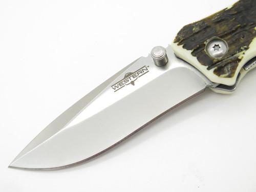 ELITE FORCE GERMAN BRAND 440C BLACK G10 LINERLOCK TACTICAL FOLDING POCKET KNIFE