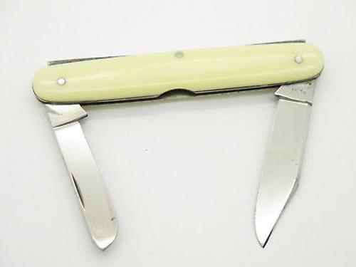Vtg 1940-1964 Case XX 4257 Cream Folding Pocket Office Pen Knife N. Mint