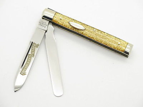 1997 CRANDALL CASE XX CLASSIC GOLD DOCTOR PHYSICIANS FOLDING POCKET KNIFE