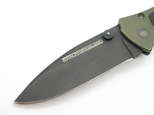 DARREL RALPH R. WILSON 440C-OS CUSTOM TITANIUM FRAMELOCK FOLDING POCKET KNIFE