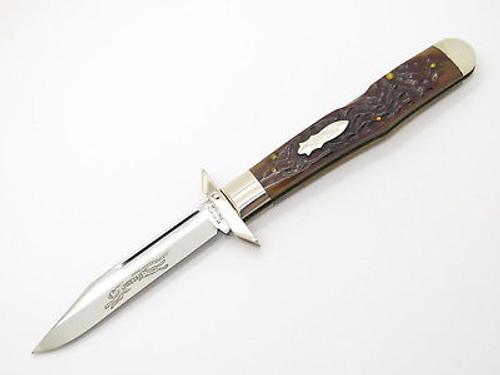 CASE CLASSIC XX 61011 1/2 CHEETAH BOMB SHIELD SWING GUARD FOLDING KNIFE