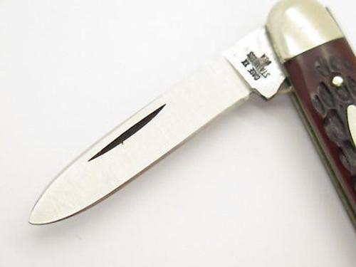 Vtg 1977 Case XX 6279 Senator Jigged Delrin Folding Pocket Knife