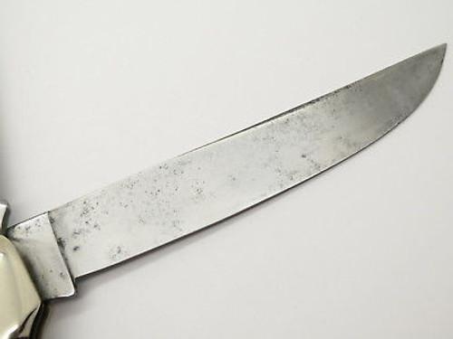 Vtg 1940-1964 Case XX 6265 Sab Large Folding Hunter Knife Red Bone