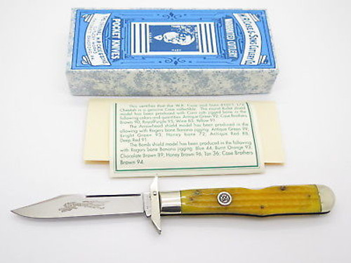 Classic Case XX 61011 1/2 Cheetah Bullet Crest Swing Guard Folding Knife