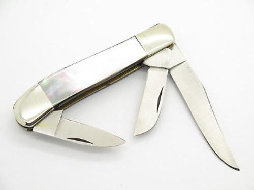 Vtg 1984 American Blade LE Parker Seki Japan Pearl Folding Pocket Knife