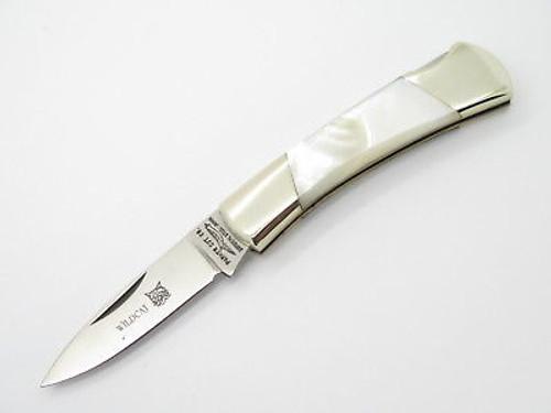 Vintage Parker Seki Japan Mother Of Pearl Lockback Small Folding Hunter Pocket Knife